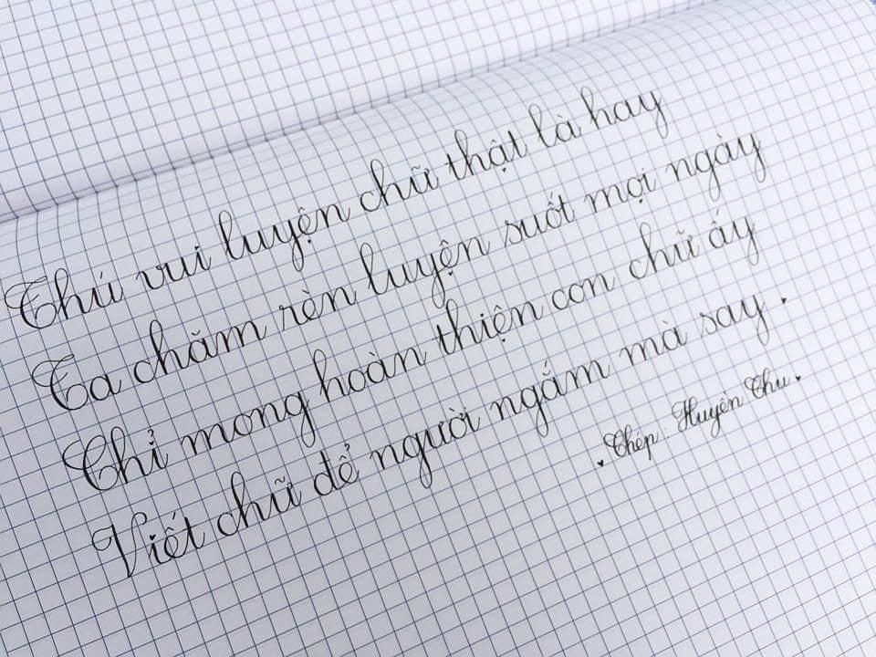 luyện chữ đẹp như in